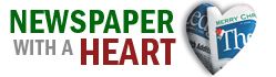 Newspaper With A Heart